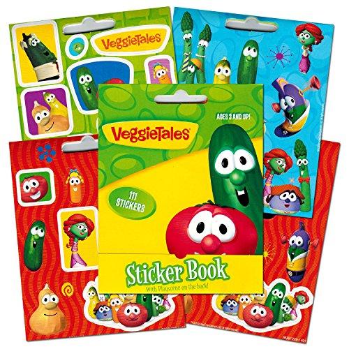 Veggie Tales Mini Sticker Book, 111-count