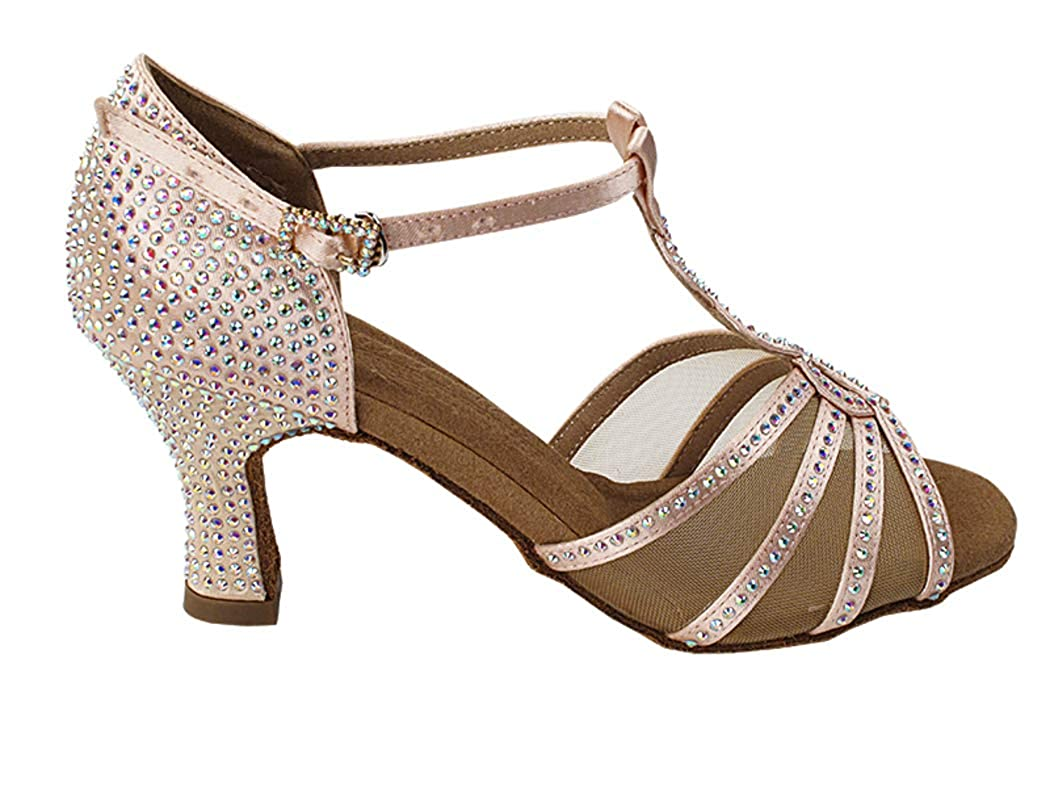 DanceNwear Very Fine Shoes Salsera Crystal Collection S1009CC Ballroom Shoes