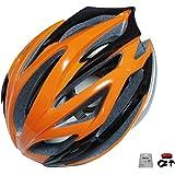 D'Kotte スタイリッシュ 軽量 自転車用 サイクリング ヘルメット アジャスター サイズ調整可能 豊富なカラーバリエーション LEDテールライトセット