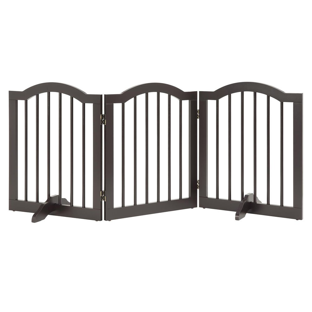Design for 0.71 Thickness Panel Set of 2 unipaws Support Feet for Wooden Pet Gate Freestanding Dog Gate