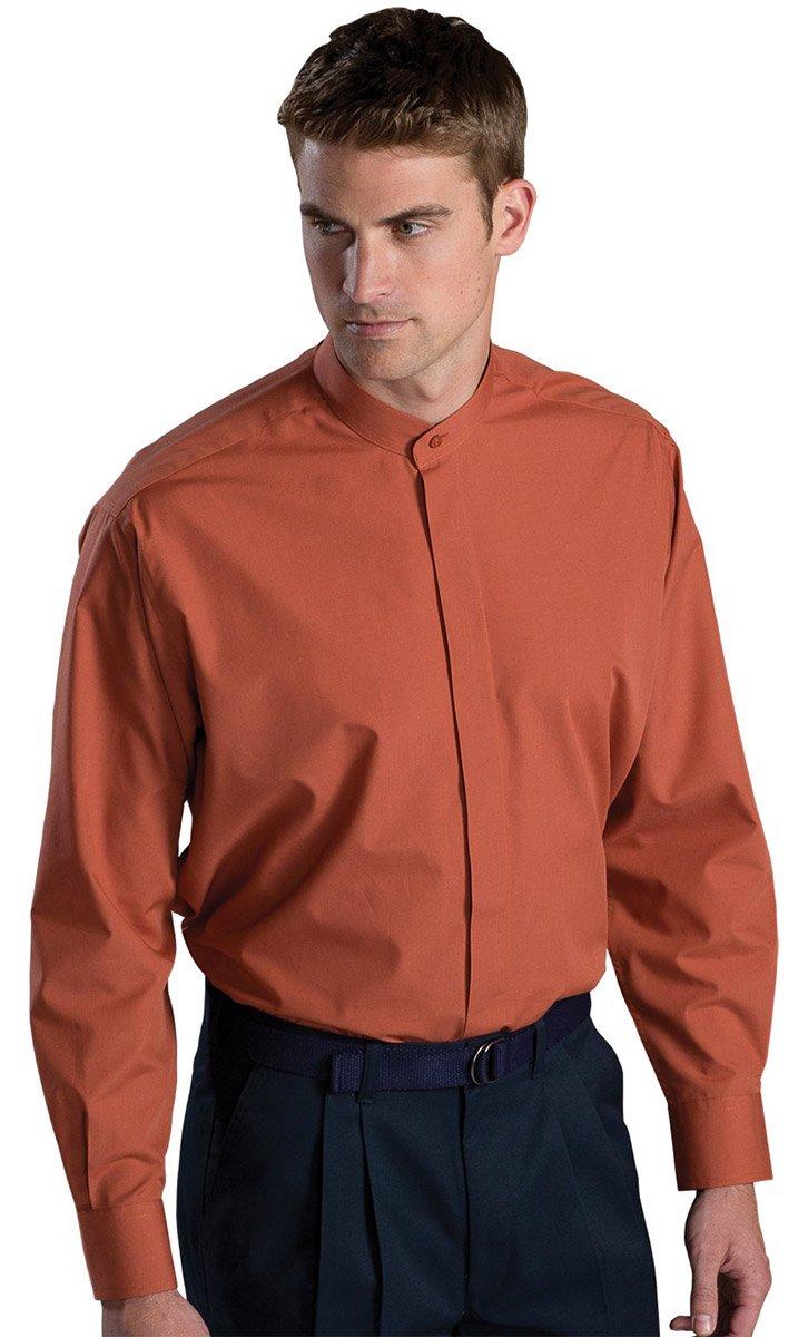 Edwards Garment Men\'s Big And Tall Banded Collar Long Sleeve Shirt ...