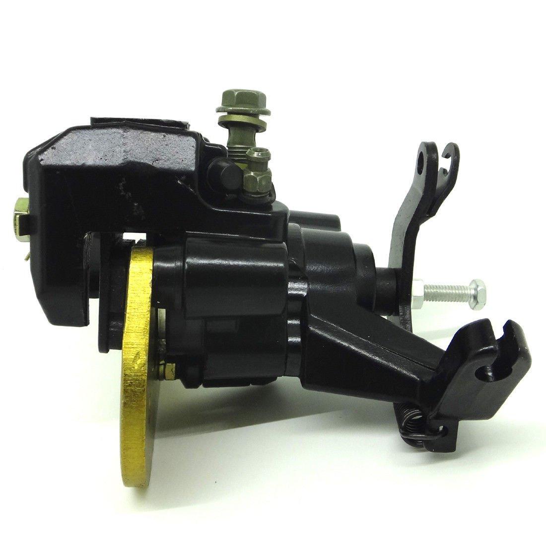 For Rear Brake Caliper Assembly For SUZUKI Quad Sport Z400 LTZ 400 With Pads 03-14 2014 Suzuki Quadsport Z400 LTZ400 2x4 2013 Suzuki Quadsport Z400 LTZ400 2x4