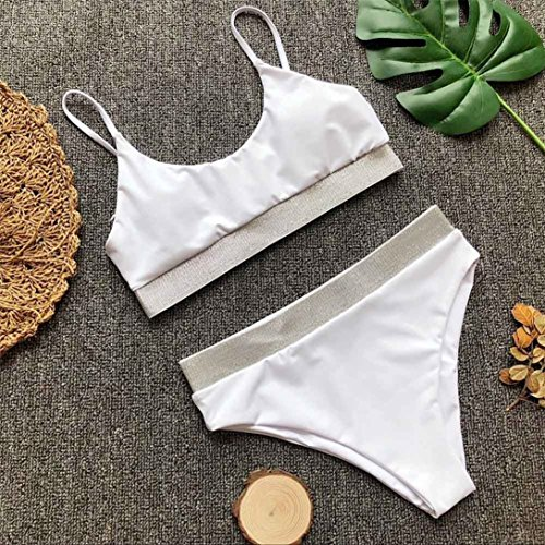 Costumi Kword Con Brasiliana Up Bling Imbottito Costume Da Donna Bagno Donna Estate Push Bikini Strass Da Donna Bikini Up Push Da Bianco Sexy Bikini Bagno Mare qgtY66
