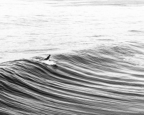 Surf Art, Beach Decor, Surf Decor - Black and White Fine Art Photography Print