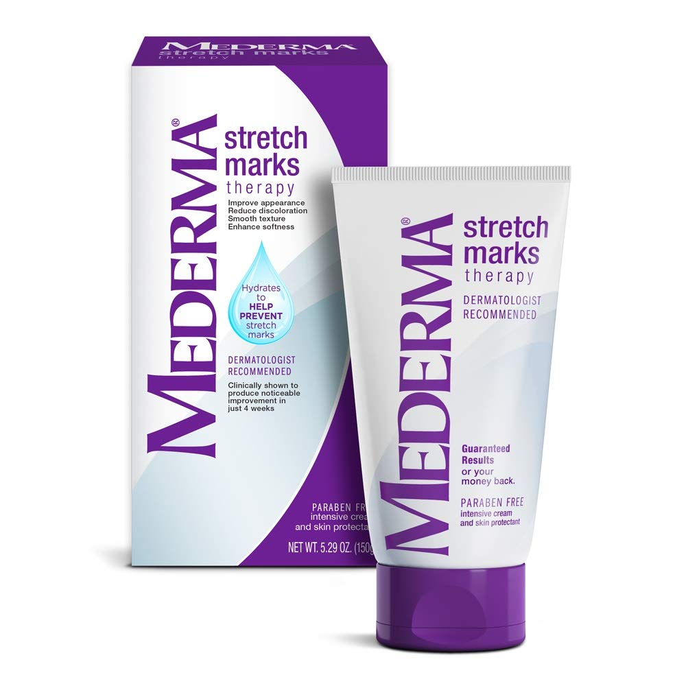 Mederma Stretch Marks Therapy - Hydrates to Help Prevent Stretch Marks - Clinically Shown to Produce Noticable Improvement in 4 Weeks- Dermatologist Recommended - 5.29 oz, Ivory (MERZ429530) : Maternity Skin Care Products : Beauty