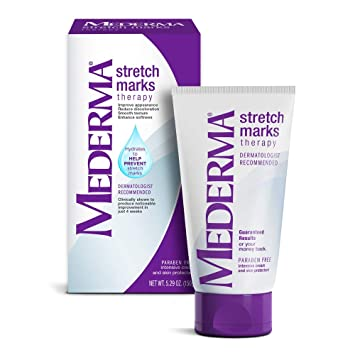 Amazon Com Mederma Stretch Marks Therapy Hydrates To Help Prevent Stretch Marks Clinically Shown To Produce Noticable Improvement In 4 Weeks Dermatologist Recommended 5 29 Oz Ivory Merz429530 Maternity Skin Care Products Beauty