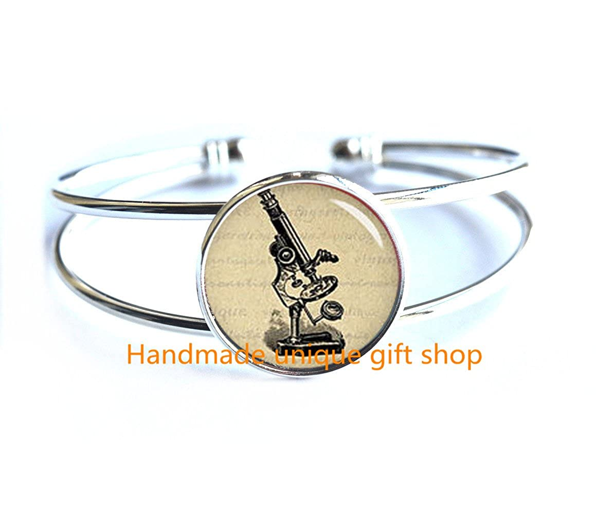 Laboratory Gift-RC180 Science Bracelet Fashion Bracelet,Microscope Bracelet