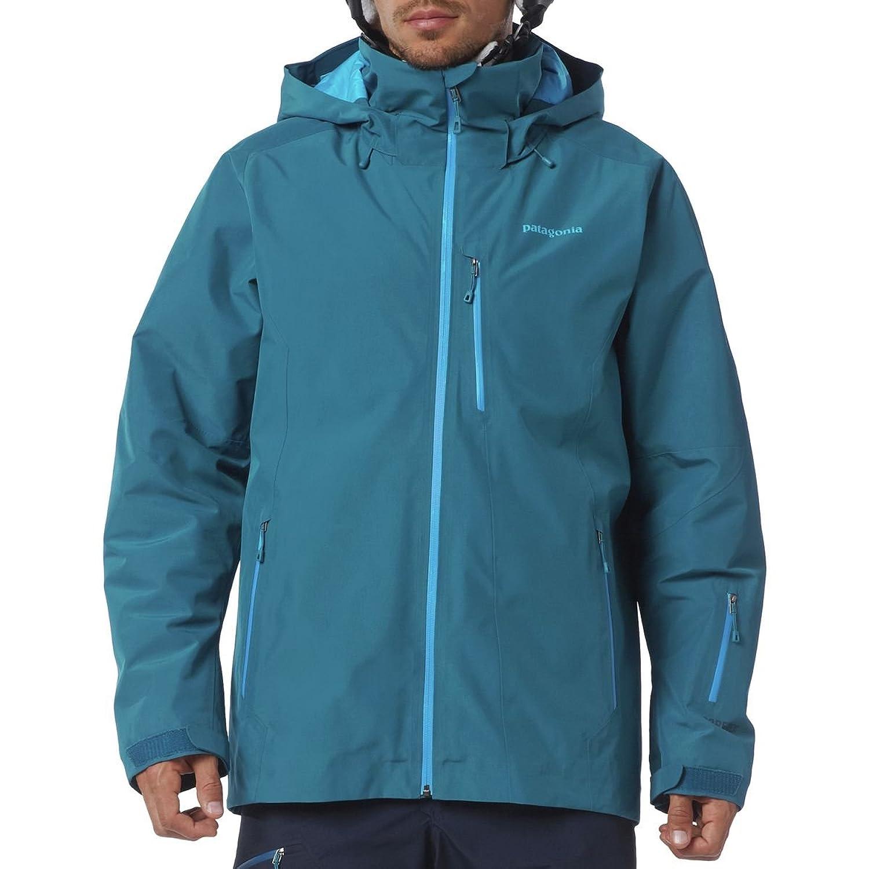 Patagonia M Insulated Powder Bowl Jacket - Underwater Blue - L - Wasserdichte isolierte Herren Gore-Tex® Ski- und Snowboardjacke