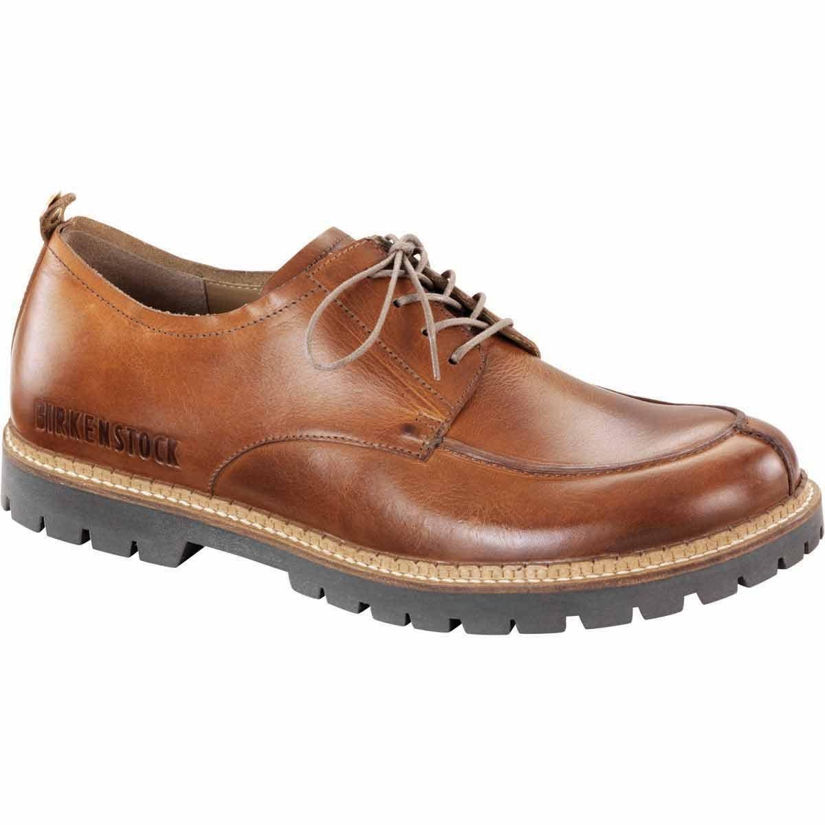 Birkenstock Mens timmins Oxford Cuoio Size 43 EU (10-10.5 M US Men)