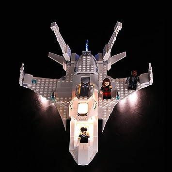 BANDRA Luz LED Kit - Light Set para Lego 76130 - Super Heroes Jet ...