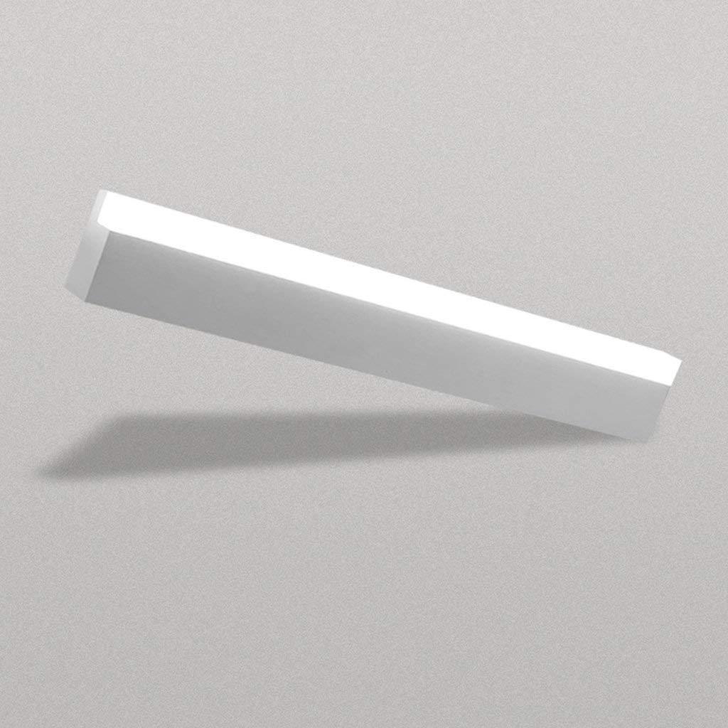 Fenciayao 楽器の浴室のLED照明ミラー、長いランプの壁の霧無料の防水バスルームのバスルーム、ライトミラーキャビネットのランプが点灯する前にミラー (Color : 49cm White)  49cm White B07RJHTNRZ