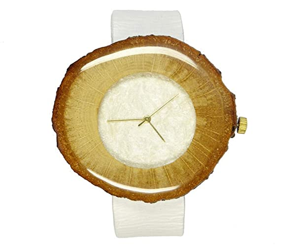 reloj de madera - reloj de mujer - regalo para ella - reloj de roble -