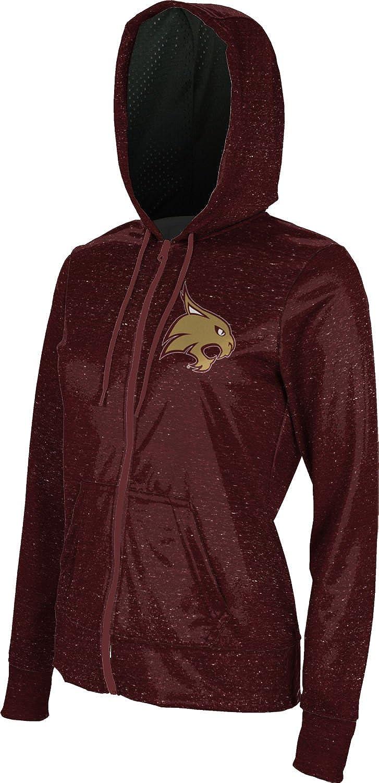 ProSphere Texas State University Girls Zipper Hoodie Heathered School Spirit Sweatshirt