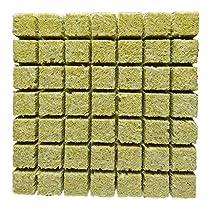 HollandBasics Hydroponic Mineral Wool Cubes (48 Pcs)