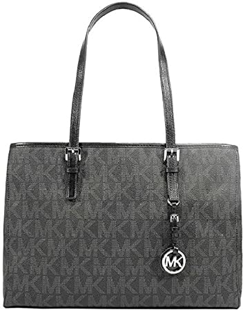 : Michael Kors Jet Set PVCGenuine Leather East