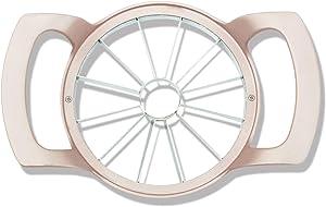 Rose Gold 12 Blades Apple Slicer-Stainless Steel Corer Cutter Wedger Divider Pitter Fruit Tools
