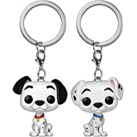 Funko Pop Keychain 101 Dalmatians Pongo and Perdita, 2 Pack