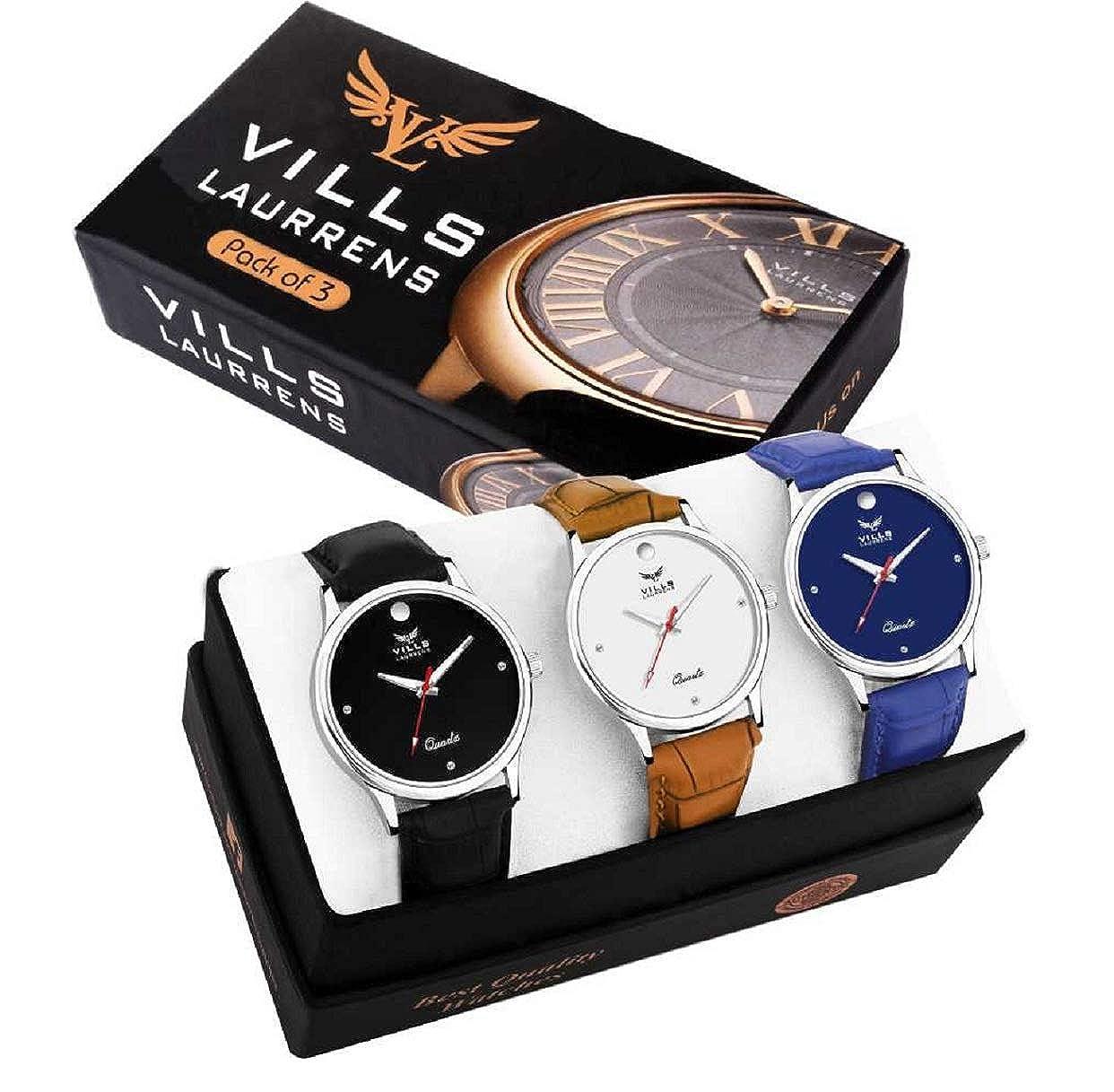 Vills Laurrens VL-1141-1142-1143 Pack of 3 Smart and