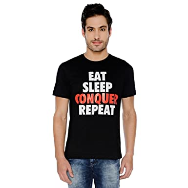 The Souled Store WWE  Brock Lesnar Eat Sleep Conquer Repeat for Men ... db8d03dd2f12