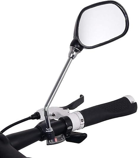 PENVEAT - Espejo retrovisor para Bicicleta, Cristal, Gran Alcance ...