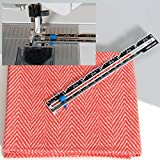 Dritz Sewing Gauge, Nickel with Black Printing and