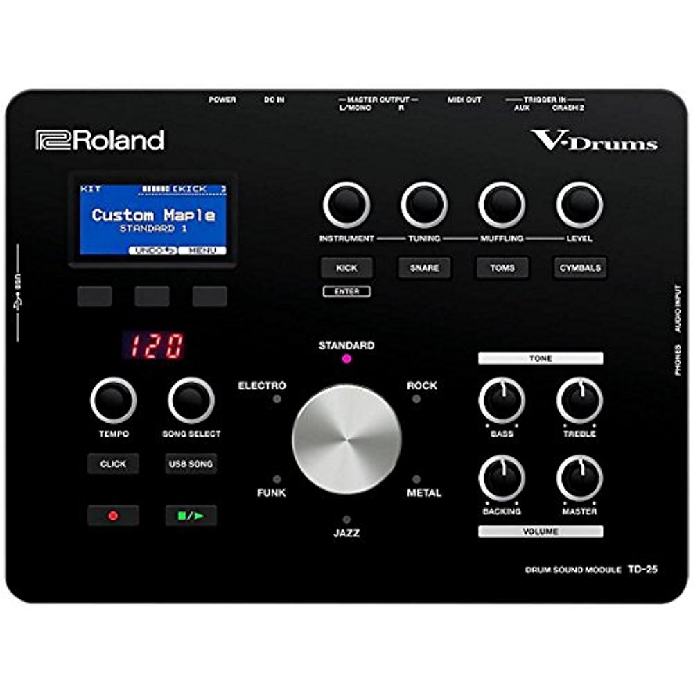 Roland TD-25 Drum Sound Module with 1 Year Free Extended Warranty