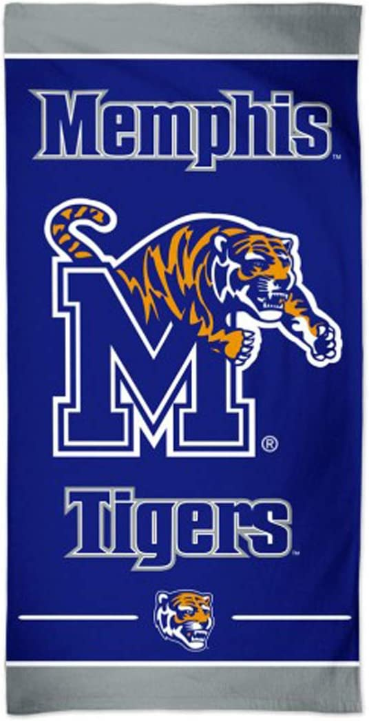 WinCraft Memphis Tigers Beach Towel with Premium Spectra Graphics 30 x 60 inches
