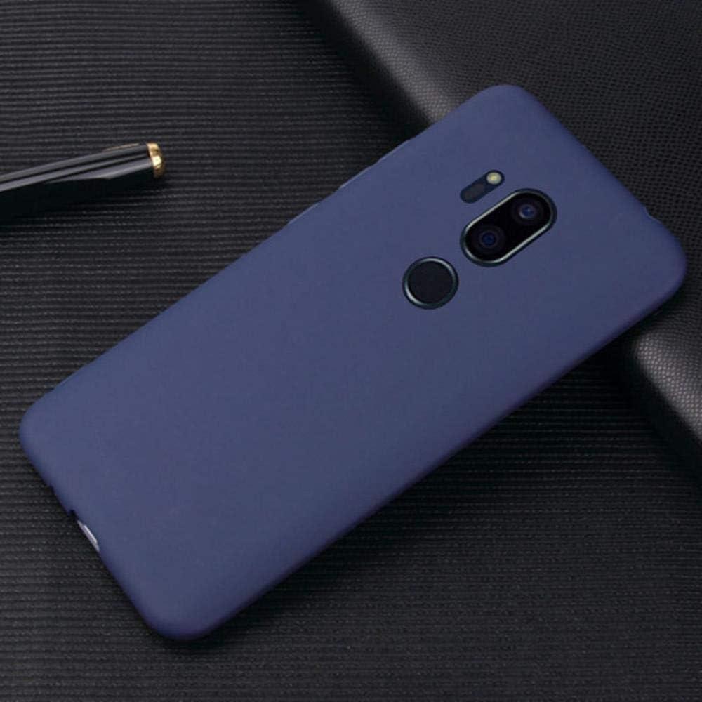 Color Matte Candy TPU Case for LG G8 G7 G6 G5 G4 Stylus G3mini Stylo 4 V10 V20 V30 V40 Ultra Thin Transparant Soft Cover,Dark Blue TPU,for LG Stylus 3
