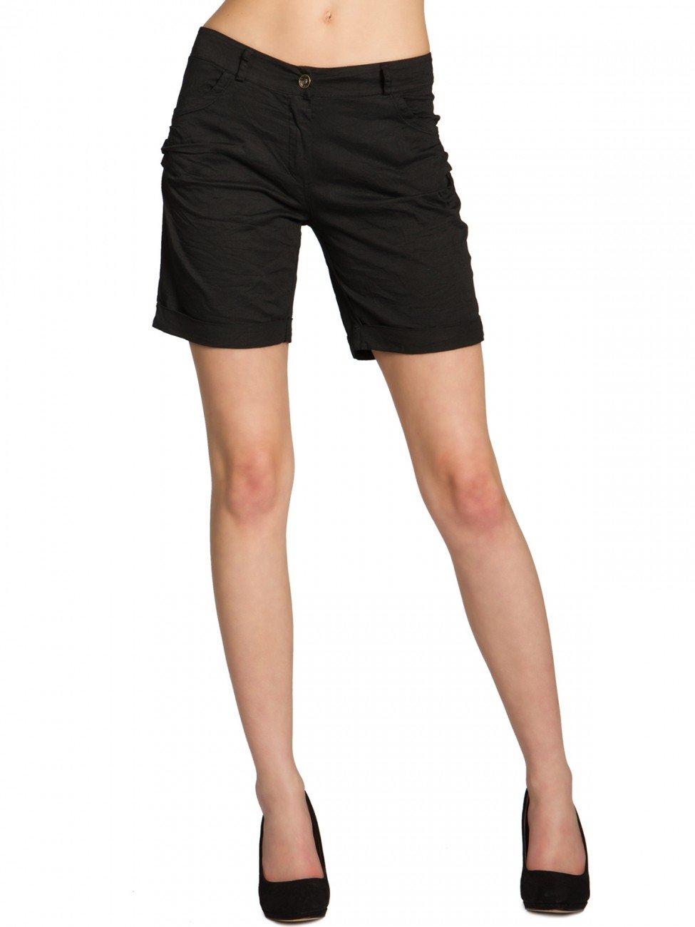 CASPAR BST006 Donna Shorts di Cotone