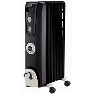 DeLonghi EW7707CB Safeheat 1500W ComforTemp Portable Oil-Filled Radiator