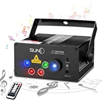 SUNY DJ Stage Lighting Projector with 128 Combinations (Z128RGRB)