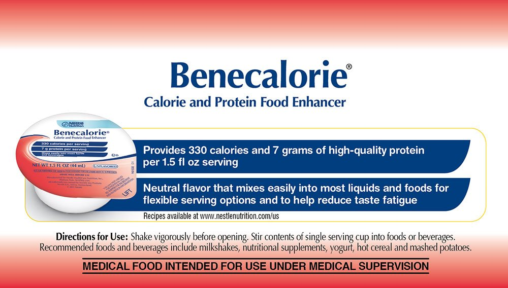 Benecalorie Calorie and Protein Food Enhancer Unflavored, 24 Count by Benecalorie