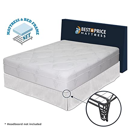 Amazon.com: Best Price Mattress 12-Inch Memory Foam Mattress and ...