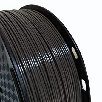 Filamento ABS (negro gris) 1,75 mm filamento de impresora 3D ABS 1 ...