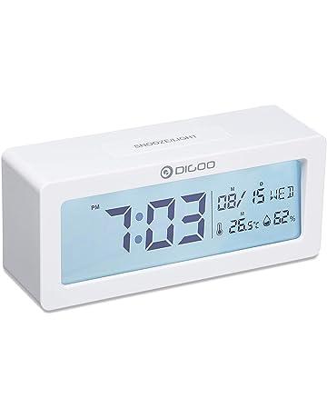 Amazon.es: Despertadores - Relojes y despertadores: Hogar y ...