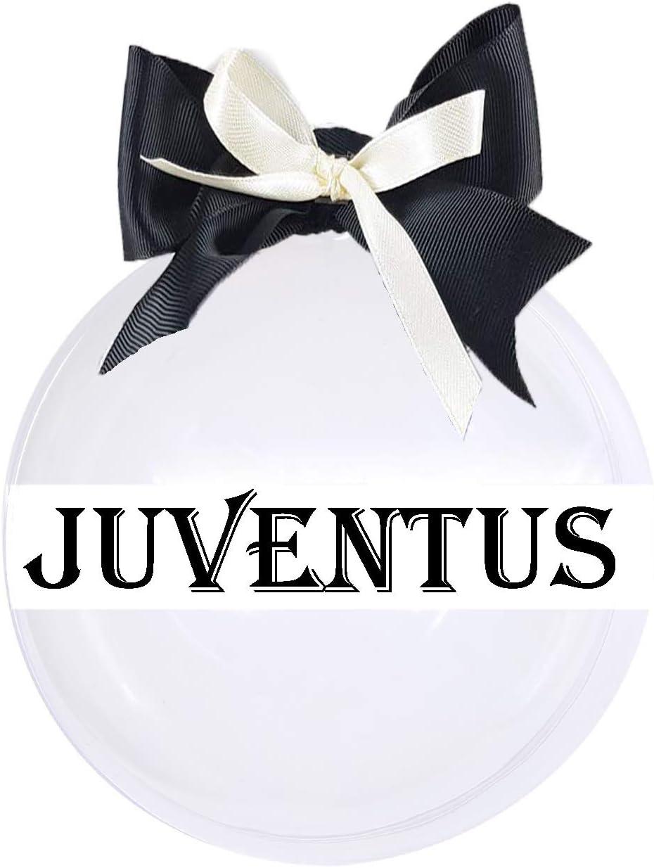 Addobbi Natalizi Juventus.Piscitelli Antonietta Pallina Natalizia Fai Da Te Con Cappello Ufficiale Juventus Idea Regalo Per Natale Amazon It Casa E Cucina