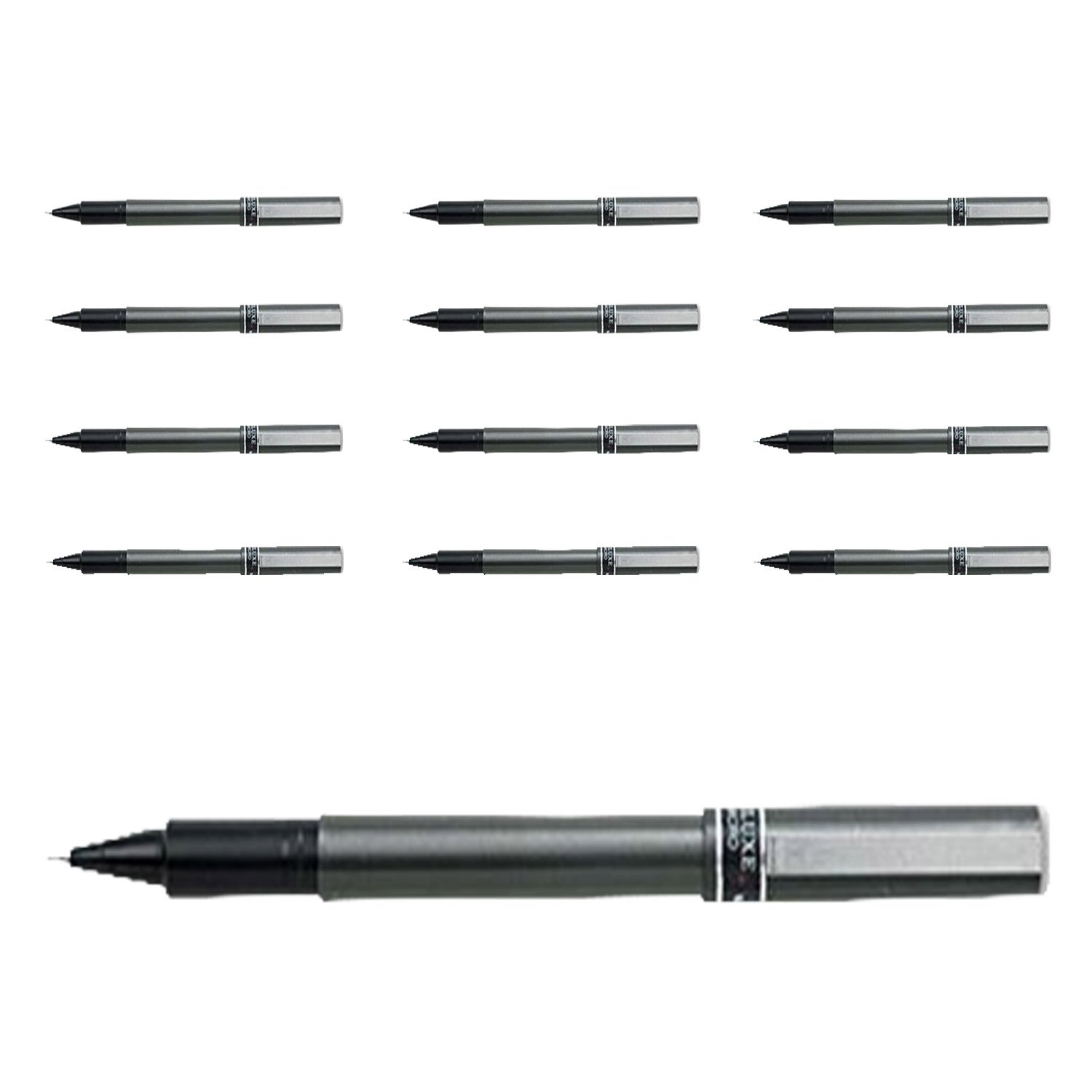 12 xUniball - Deluxe Rollerball Pen 0.5 mm