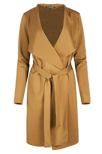 Amazon.com: Be Jealous Mujer Pac chaqueta de punto cascada ...