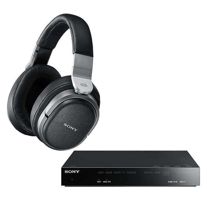 Sony MDR-HW700DS auricular - Auriculares (Circumaural, Diadema, Inalámbrico, 5-25000 Hz, 24 Ω, Negro): Amazon.es: Electrónica
