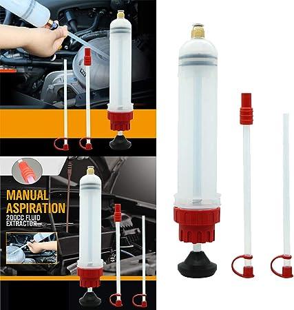 Kesoto Manuelle Absaugpumpe Und Absaugspritze Zum Absaugen Von Öl Und Benzin Aus Dem Motor Auto
