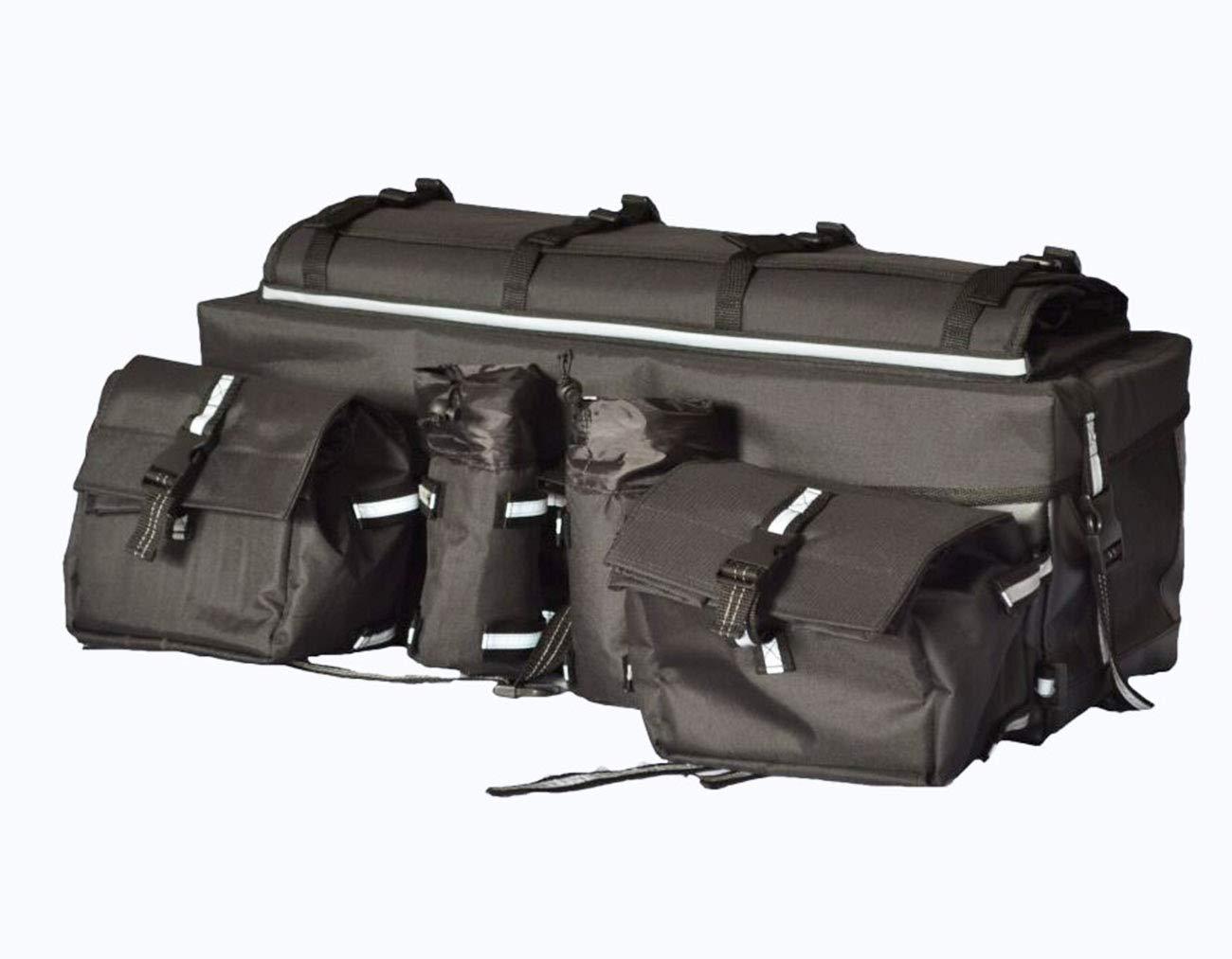 DIDIBABA ATV Cargo Bag Luggage Storage Gear Bag Heavy Duty ATV Luggage Rear Bag