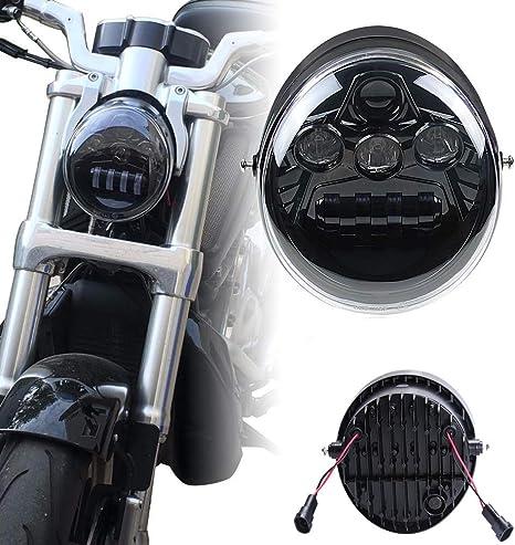 Motorrad 60w Hi Lo Beam Led Scheinwerfer Für Vrsc Vrsca Vrscb Vrscf V Rod Auto