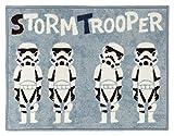 Suminoe Disney Star Wars Stormtrooper kitchen mat DMW-5001 width 45 ~ length 180cm light blue 13134132