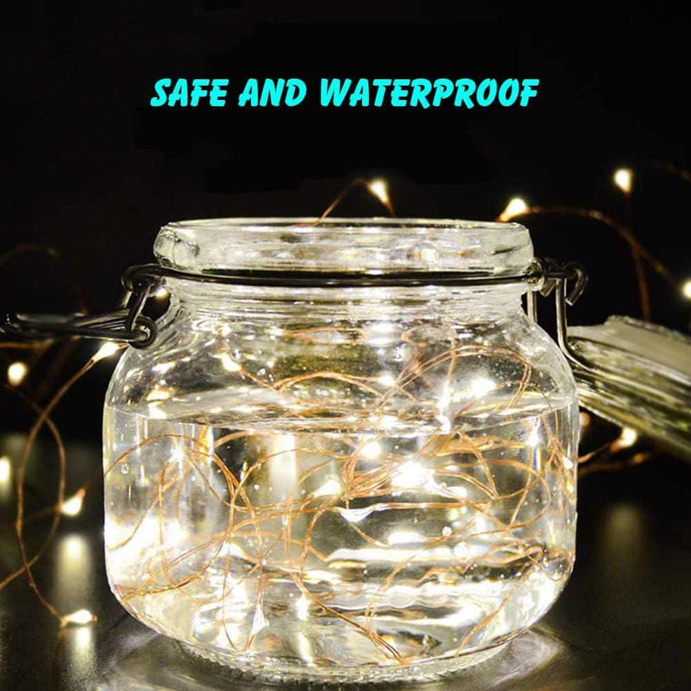200 LED Cadena de Luz Cortina IP44 Impermeable Cadena de Luz Blanco C/álido para la Fiesta de Navidad Dormitorio Decoraci/ón Interior y Exterior Luz SAMTITY Cortina de Luz