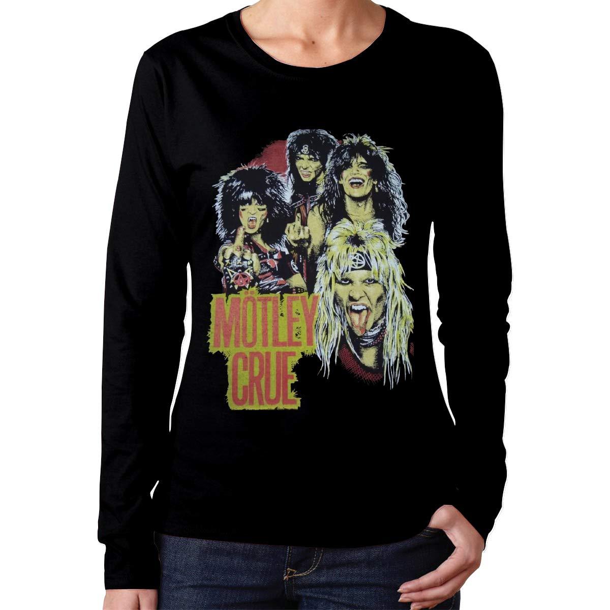 Mykjgilsdu Motley Crue Oneck Casual Tee Black Shirts