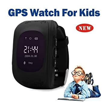 winnes Niños GPS Relojes Inteligentes Soporte GPS/GPRS/SOS, Portable Q50 Electronic Device, Protector il Tuo Niños Inteligentes GPS Tracker Tracking de ...
