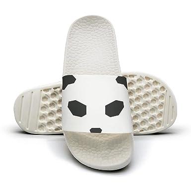 8f87763b3da8df PPLLMMA Panda face Black Men s Shower Athletic Slides Sandal Slippers Flip  Flops