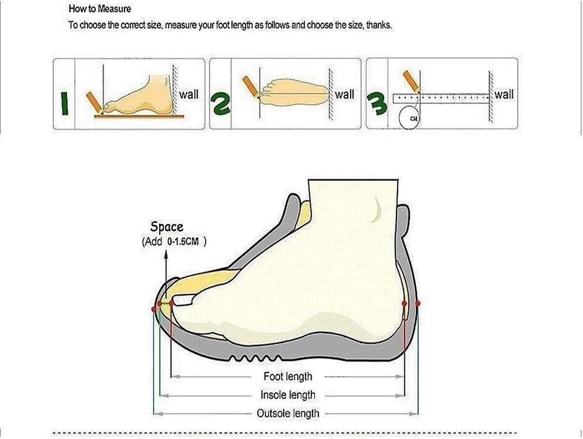 GUYUEXUAN Chaussures de randonnée, Haut-Top randonnée Chaussures Hommes, Grandes Chaussures Chaudes de Velours, Haut-Top Chaussures Casual, Brun foncé/Noir Brown