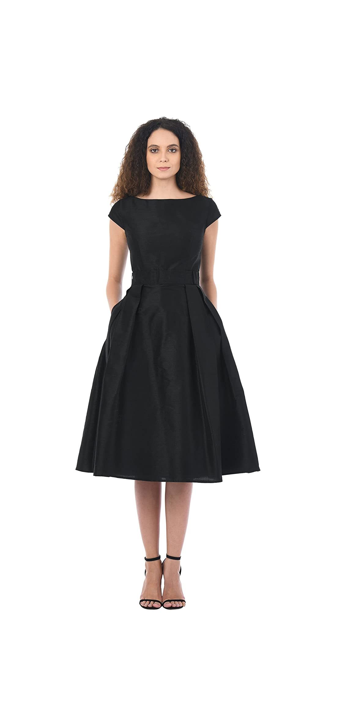 Fx Quincy Dress - Customizable Neckline, Sleeve  Length