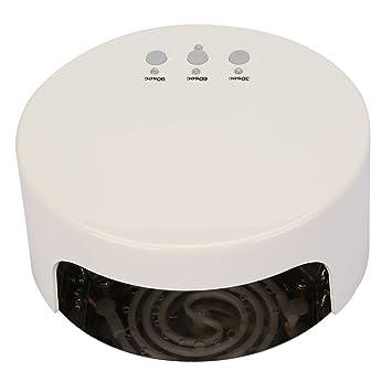 TKOOFN Lámpara CCFL 36W Secador de Uñas para Manicura forma de Torta (Blanco): Amazon.es: Hogar